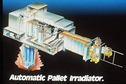 Automatic Pallet Irradiator